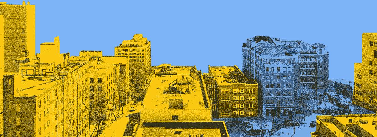 city foreground